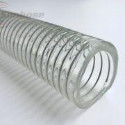 clear pvc steel wire hose