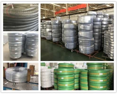 package of steel wire reinforced suctoin hose