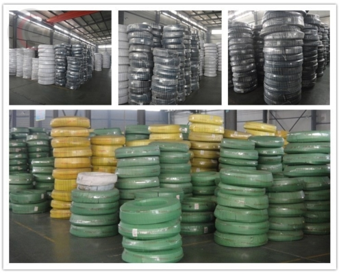 Package style of hydraulic hose