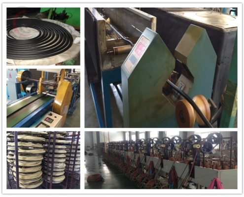 production of rubber oil hose
