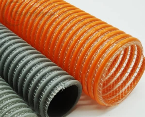PVC Fabric Reinforced Suction Hose Corrugated
