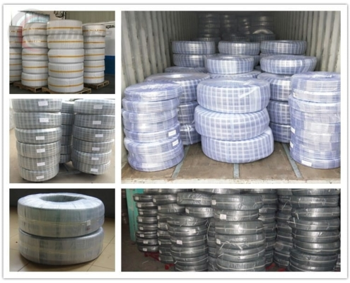 package of wire reinforced pvc hose