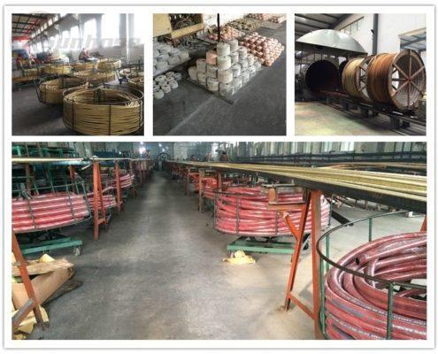 workshop of hydraulic hose