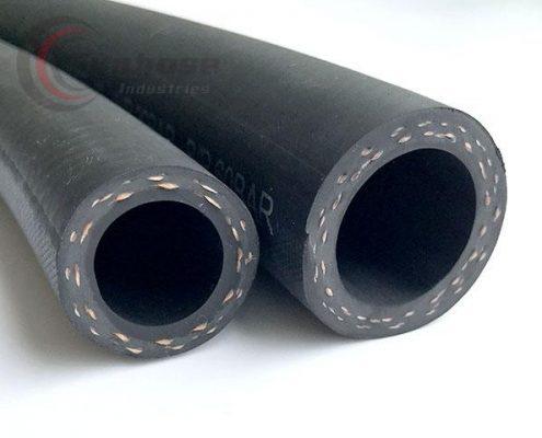 double reinforced rubber hose