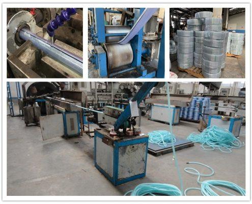 flexible braided pvc hose