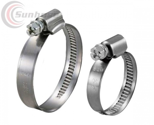 German type hose clamps