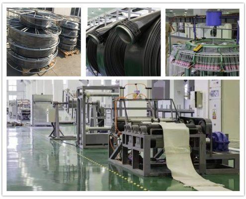 workshop of tpu layflat hose