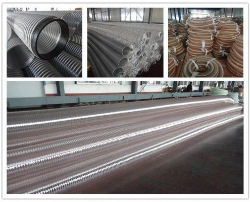 Steel Wire Reinforced TPU Hose