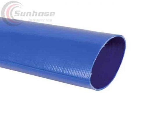 blue TPU layflat hose